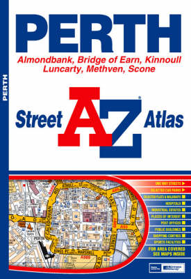 Perth A-Z (Sheet map, folded)