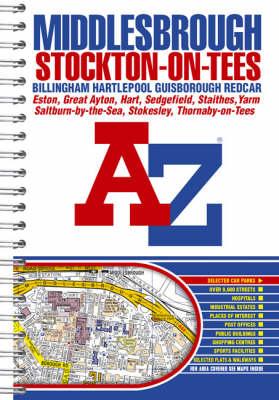 Middlesbrough Street Atlas (Spiral bound)