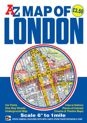 Map of London - Street Maps & Atlases S. (Paperback)
