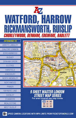 Master Map of North West London (Sheet map, folded)