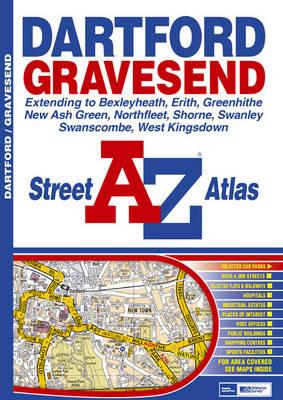 Dartford and Gravesend Street Atlas (Paperback)