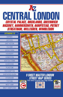 Master Map of Central London (Paperback)