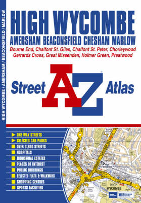 High Wycombe Street Atlas (Paperback)