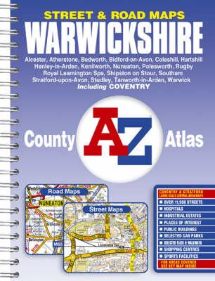 Warwickshire County Atlas (Paperback)