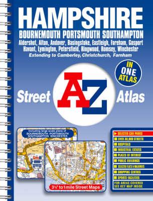 Hampshire Street Atlas (Paperback)