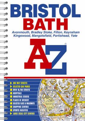 Bristol and Bath Street Atlas (Spiral bound)