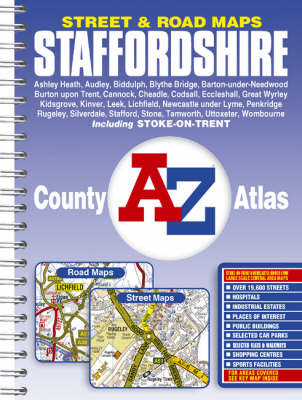 Staffordshire County Atlas (Paperback)