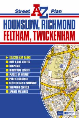 Hounslow, Richmond, Feltham and Twickenham Street Plan (Sheet map, folded)