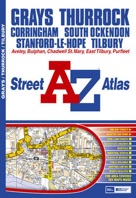 Grays and Thurrock Street Atlas (Sheet map, folded)