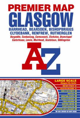 Premier Map of Glasgow (Sheet map, folded)