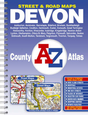 Devon County Atlas (Paperback)