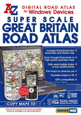 Great Britain Super Scale Road Atlas (CD-ROM)