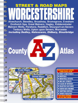 Worcestershire County Atlas (Paperback)