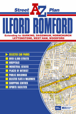 Ilford and Romford Street Plan (Sheet map, folded)