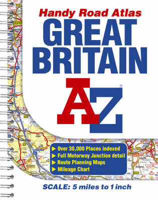 Great Britain Handy Road Atlas (Paperback)