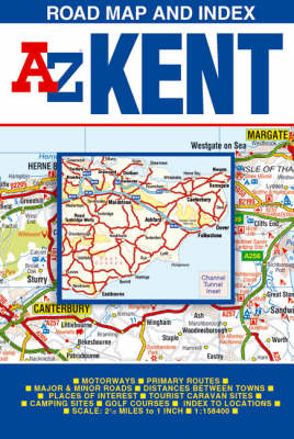 Kent Road Map (Sheet map, folded)