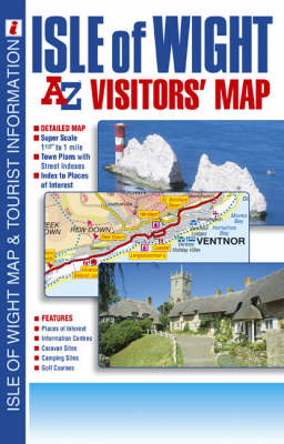 Isle of Wight Visitors' Map (Sheet map, folded)