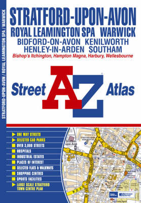 Stratford-Upon-Avon and Warwick Street Atlas (Paperback)