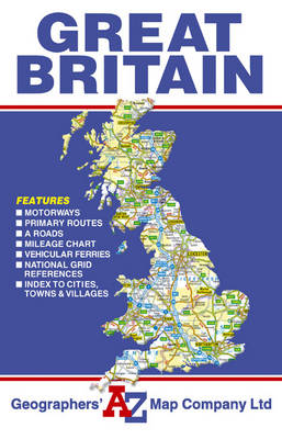 Great Britain Road Map (Sheet map, folded)
