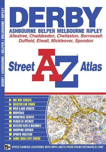 Derby Street Atlas - A-Z Street Atlas (Paperback)