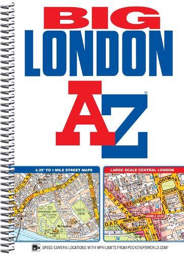 Big London Street Atlas - London Street Atlases (Spiral bound)