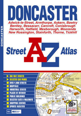 Doncaster Street Atlas - A-Z Street Atlas S. (Paperback)