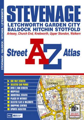 Stevenage Street Atlas - A-Z Street Atlas (Paperback)