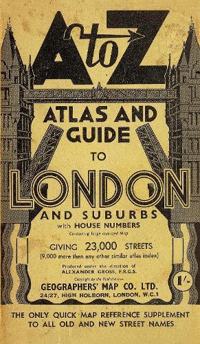 London Street Atlas - A-Z Street Maps & Atlases (Paperback)