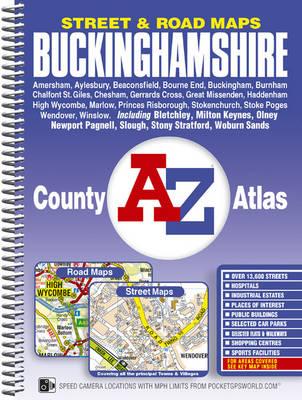 Buckinghamshire County Atlas - A-Z Street Maps & Atlases S. (Spiral bound)