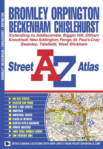 Bromley Street Atlas - A-Z Street Atlas (Paperback)