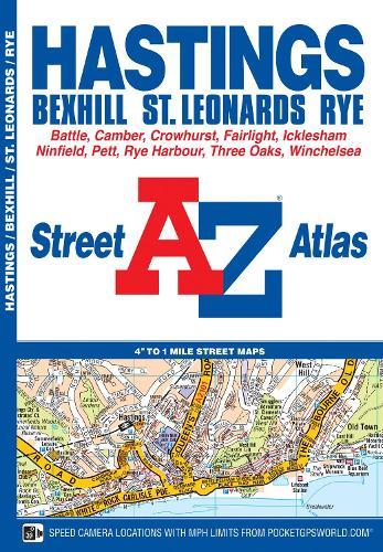 Hastings Street Atlas - A-Z Street Atlas S. (Paperback)