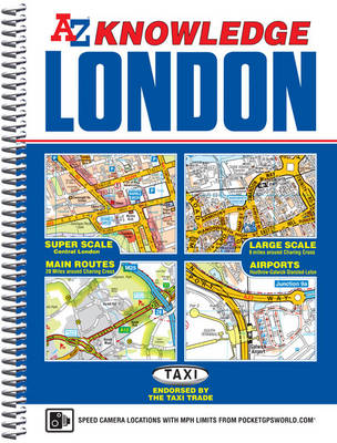 London Knowledge Atlas (Spiral bound)