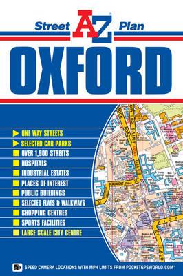 Oxford Street Plan - A-Z Street Plan S. (Sheet map, folded)