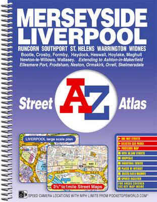Merseyside Street Atlas - A-Z Street Atlas S. (Spiral bound)