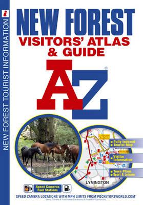 New Forest Visitors Atlas - A-Z Visitors Atlas (Paperback)
