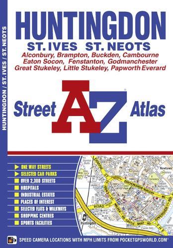 Huntingdon Street Atlas - A-Z Street Atlas S. (Paperback)