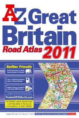 Great Britain 4m Floppy Road Atlas - A-Z Road Atlas S. (Paperback)