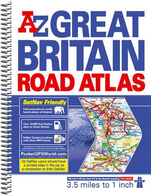 Great Britain 3.5m Road Atlas 2011 - A-Z Road Atlas S. (Spiral bound)