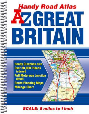 Great Britain Handy Road Atlas 2011 - A-Z Road Atlas S. (Spiral bound)