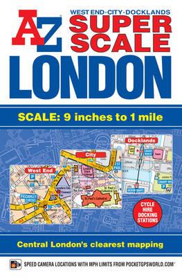 Super Scale London Street Atlas - London Street Atlases (Paperback)