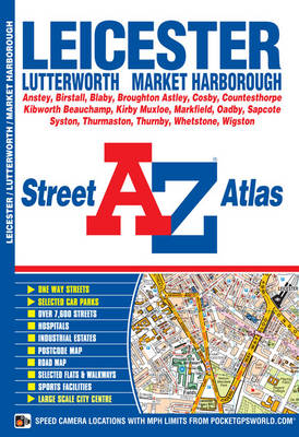 Leicester Street Atlas - A-Z Street Atlas (Paperback)