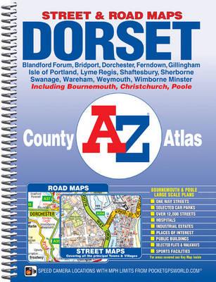 Dorset County Atlas - A-Z County Atlas (Spiral bound)