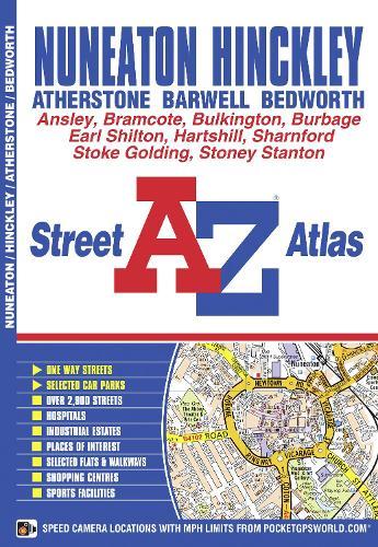 Nuneaton Street Atlas - A-Z Street Atlas S. (Paperback)