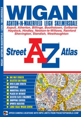 Wigan Street Atlas - A-Z Street Atlas (Paperback)