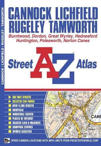 Cannock Street Atlas - A-Z Street Atlas S. (Paperback)
