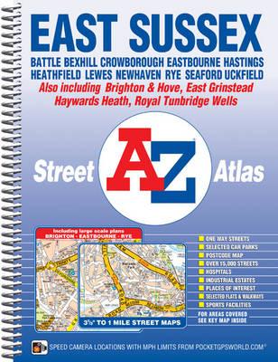 East Sussex Street Atlas - A-Z Street Atlas S. (Spiral bound)