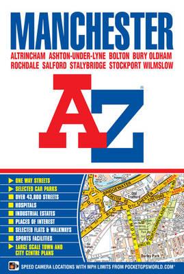 Manchester Street Atlas - A-Z Street Atlas S. (Paperback)