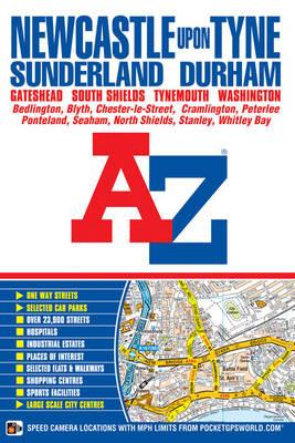 Newcastle Upon Tyne Street Atlas - A-Z Street Atlas S. (Paperback)