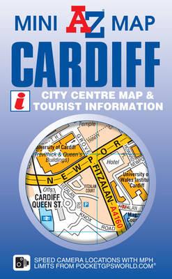 Cardiff Mini Map - A-Z Mini Map S. (Sheet map, folded)