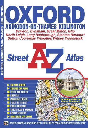 Oxford Street Atlas (Paperback)